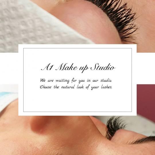 A1 make up studio by Andjelina Stamenković #nis Nadogradnja trepavica Nadogradnja svilenih trepavic
