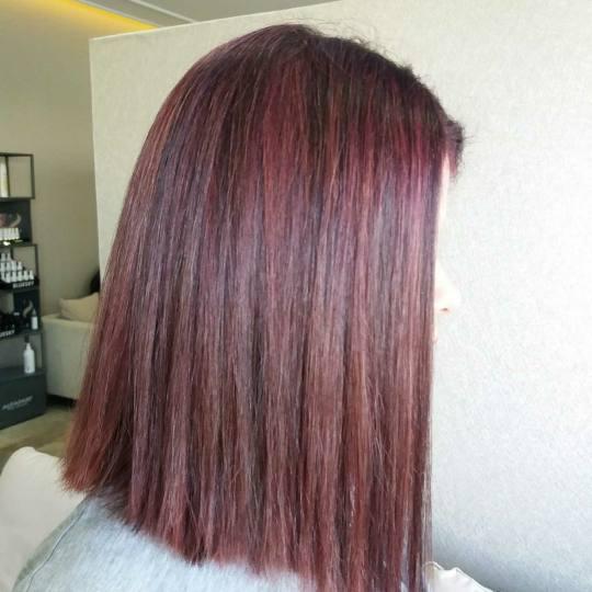 Vortex #beograd Pramenovi Pramenovi na foliju / blanš - kosa srednje dužine pramenovi sa bojom