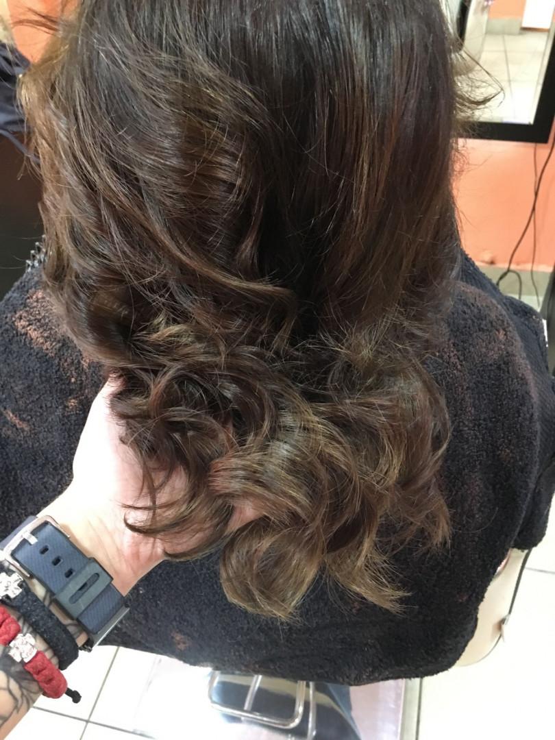 LookBook Hair Studio K1 Ombre i balayage - srednja dužina kose