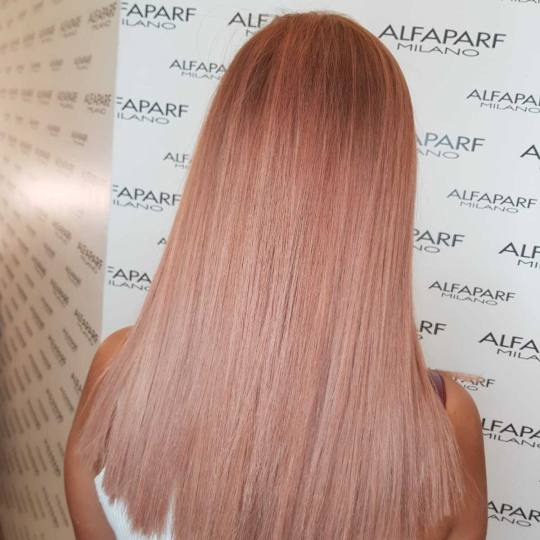 Alfaparf Studio #beograd Farbanje kose Farbanje cele dužine - duga kosa leonardo color