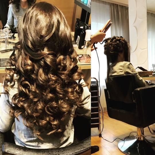 Studio Benvenuto #beograd Feniranje i stilizovanje Feniranje + lokne - ekstra duga kosa lokne