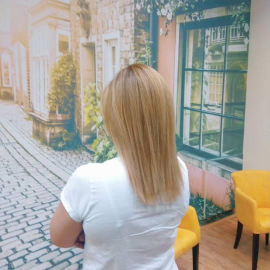 Hair by Silvy #beograd Ombre, sombre, balayage Balayage + feniranje - kosa srednje dužine Balayage