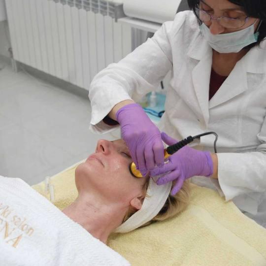 Milena #beograd Mezoterapija lica Mezoterapija lica bez igle Mezoterapija lica
