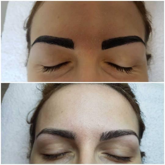 Davidijus #beograd Make-up / šminkanje Profesionalno šminkanje - dnevna šminka farbanje obrva