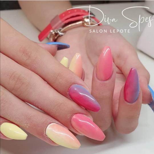 Diva Spes #novisad Nadogradnja noktiju Nadogradnja noktiju tipsama