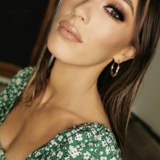Beauty Centar #beograd Make-up / šminkanje Profesionalno šminkanje Rad naše šminkerke Saške