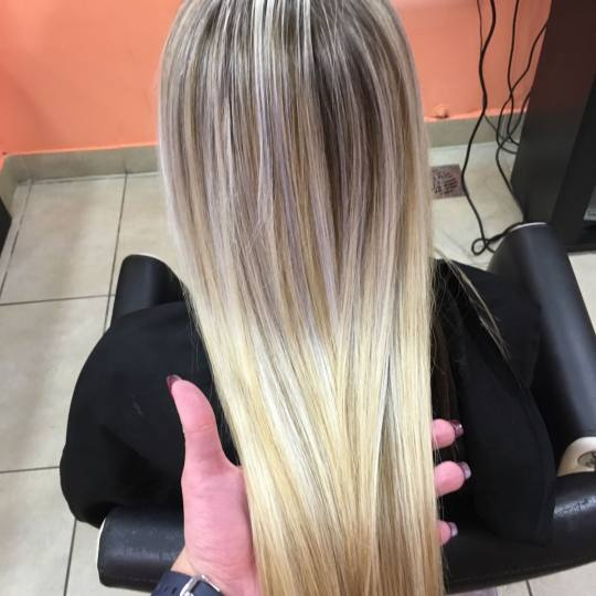Hair Studio K1 #beograd Farbanje kose Ombre i balayage - duga kosa