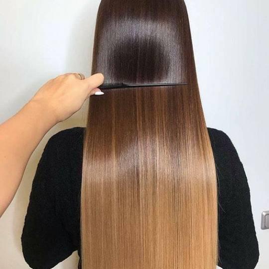 Salon Pirić #beograd Keratinski tretmani Cadiveu keratinsko ispravljanje kose - ekstra duga kosa