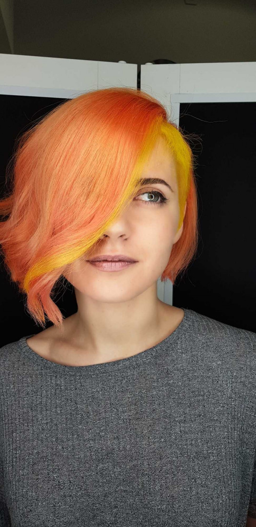 LookBook Cut 'n' Go Farbanje cele kose - kosa srednje dužine