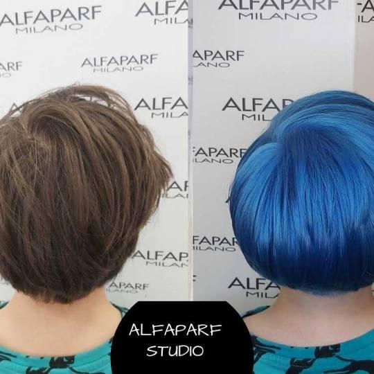 Alfaparf Studio Ada Mall #beograd Farbanje kose Farbanje cele dužine - kratka kosa