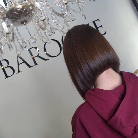 Baroque #beograd Šišanje Žensko šišanje - paž