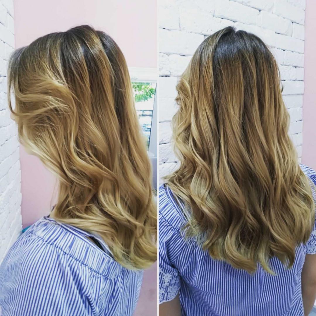 LookBook Beauty Express bar Feniranje na ravno / talase - extra duga kosa