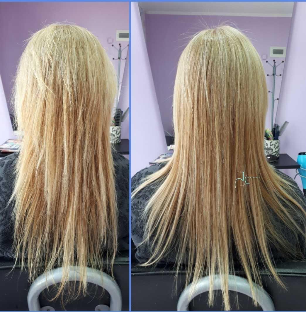 LookBook Jovana + Ispravljanje kose keratinom - duga kosa