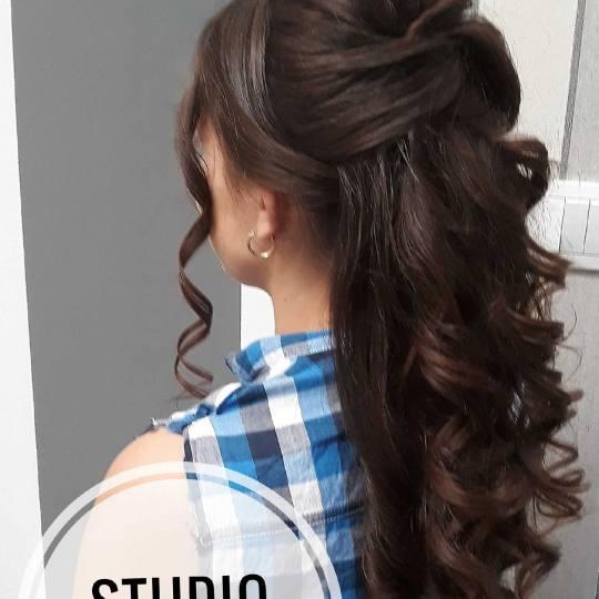 Beauty Team #novisad Svečane i frizure za svadbu Svečana frizura - sve dužine kose Svecana frizur