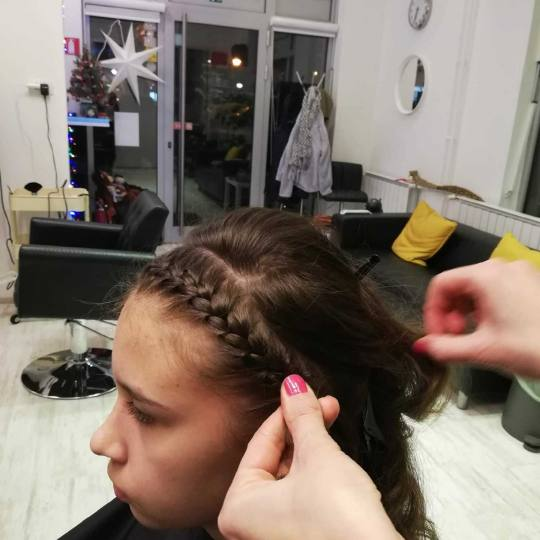 Attitude hair salon #beograd Pletenice, kike, punđe Rajf pletenica - sve dužine kose