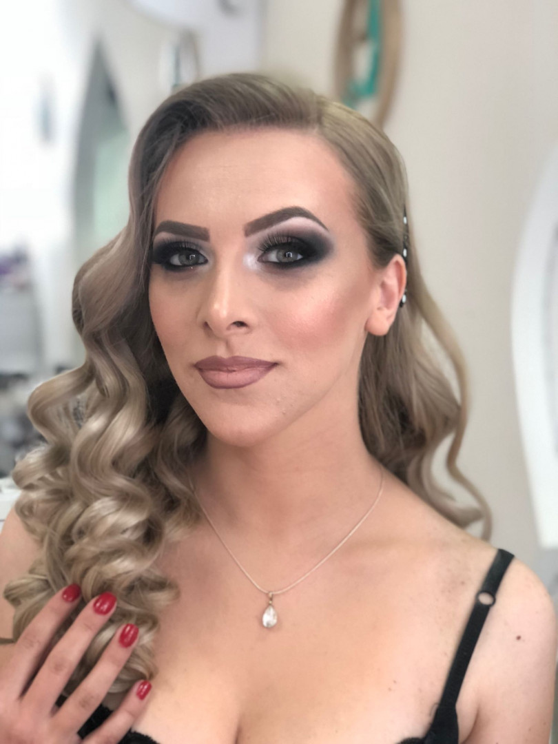 LookBook Olymp Beauty Profesionalno šminkanje + veštačke trepavice - šminka za venčanje