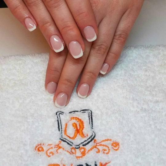 Rustik Nails #beograd Ojačavanje noktiju Ojačavanje prirodnih noktiju gelom - french
