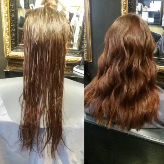 Baroque #beograd Šišanje Žensko šišanje + feniranje - duga kosa