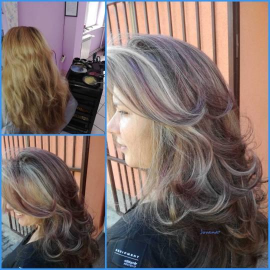 Jovana + #beograd Pramenovi Pramenovi na foliju do 2 boje + preliv - ekstra duga kosa