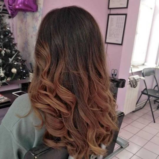 Jovana + #beograd Žensko šišanje Žensko šišanje + feniranje na ravno / lokne - ekstra duga kos
