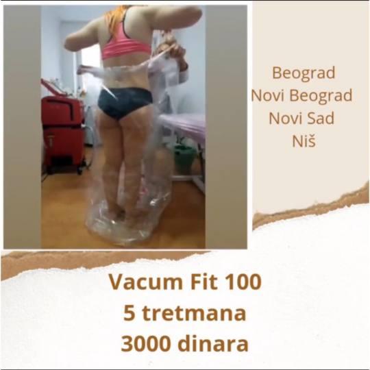 Laser centar Triniti Niš #nis Tretmani tela VacuumFit 100 - tretman tela Telo