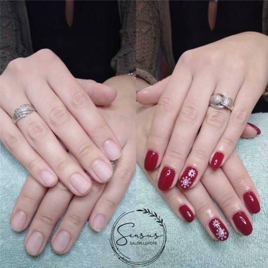 Sensus #beograd Izlivanje noktiju Izlivanje noktiju gelom