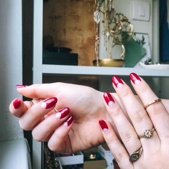 D&D Beauty Center #beograd Ojačavanje noktiju Ojačavanje prirodnih noktiju - gel lak