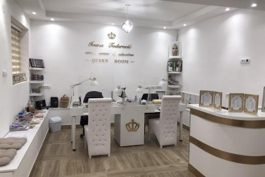 Kozmetički salon Estetic center & education Queen room Beograd